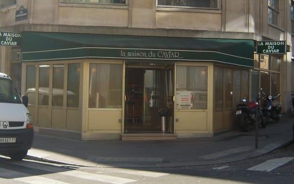 Maison du caviar la etnisch eten parijs paris - Maison du caviar paris ...