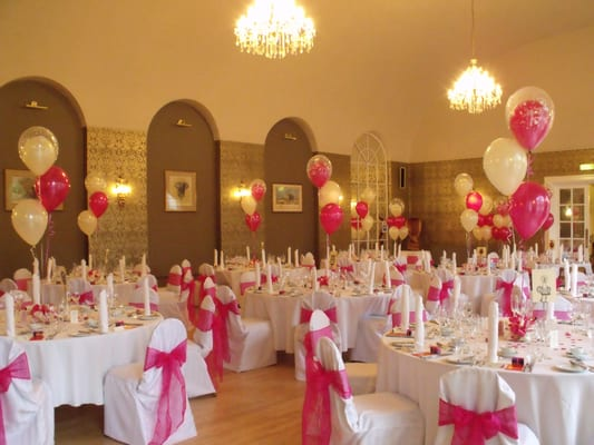 Wedding and Party Balloon decorations and chair cover hire | Yelp