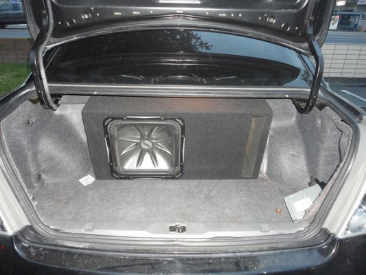 Custom Subwoofer Enclosure For A 15 Quot L7 On A 2004 Nissan