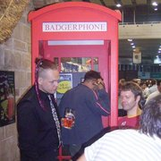 Badger Ale phone box, 2006