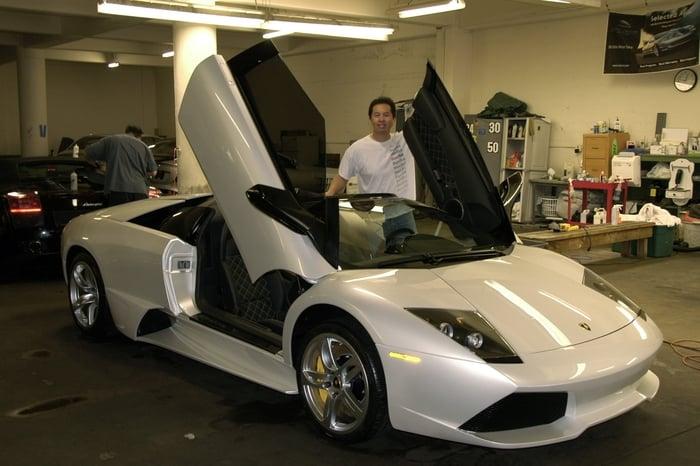 Lamborghini murcielago lp460 roadster yelp for Green light motors fremont