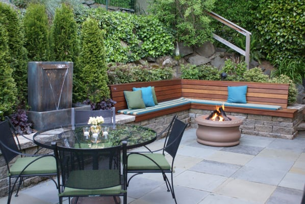 Courtyard Patios - My favorite projects - maximize small spaces