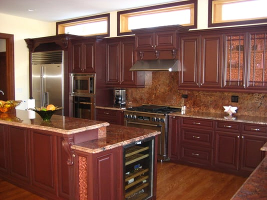 chicago kitchen cabinets maple frameless yelp. Black Bedroom Furniture Sets. Home Design Ideas