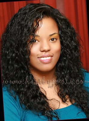 Black Curly Weave Sew In