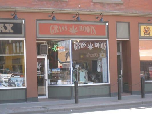 Grassroots Hemp Smoke shop Tobacconists Calgary AB