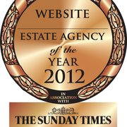 Our website was recognised as one of the best in the UK at The Sunday Times Estate Agency of the Year Awards 2012