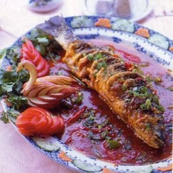 Whole Spicy Sea Bass