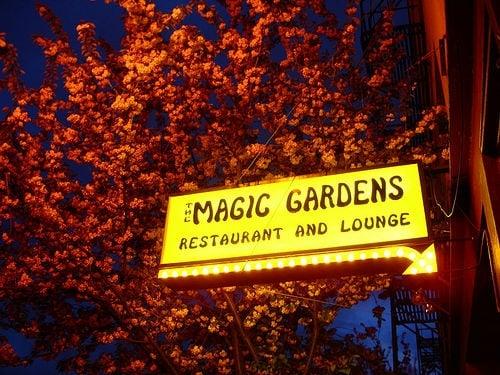 Magic Gardens Restaurant Lounge Old Town Chinatown