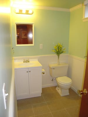 Farquhar Bathroom remodel A cheap simple beautiful