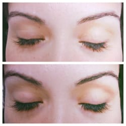 Two week eyelash touch up session very happy with my new for 3d eyebrow tattoo near me