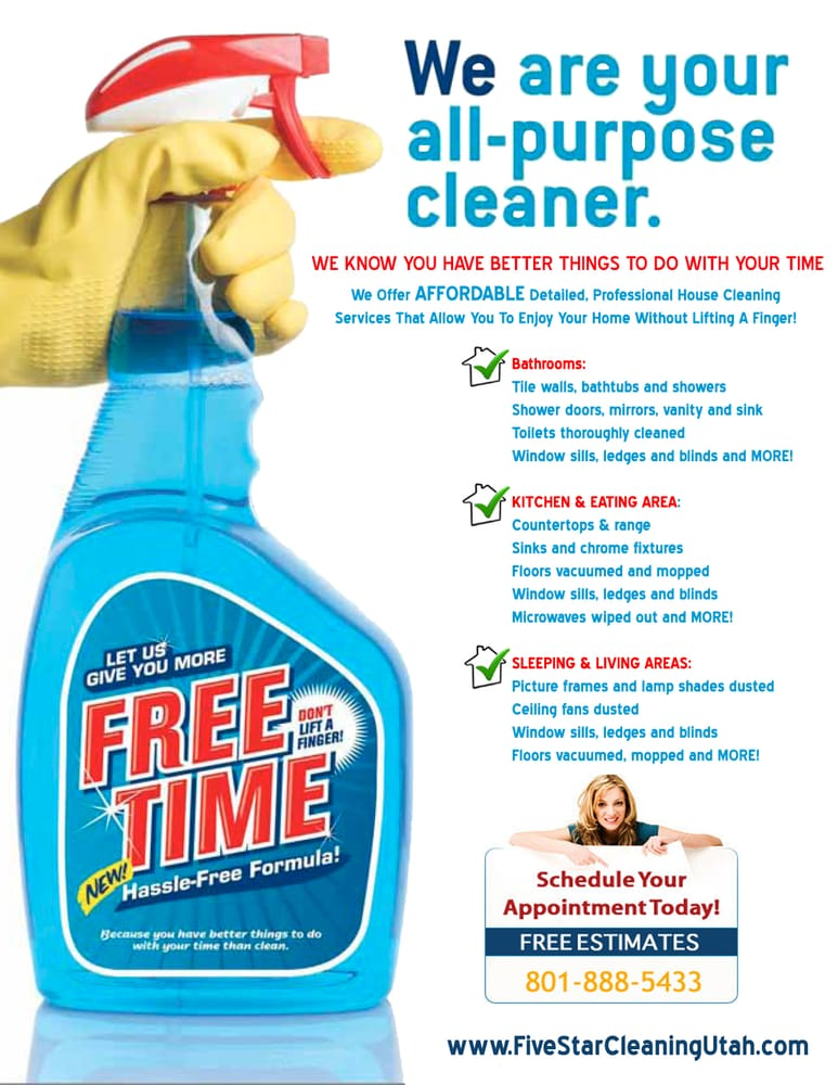 House Cleaning Ads Samples | American HWY