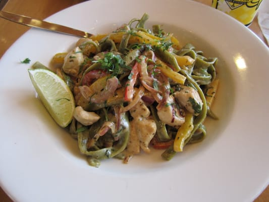 Chicken Tequila Fettuccini Recipe — Dishmaps