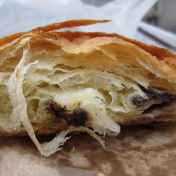 Pain au Chocolat (cross-sectional view)