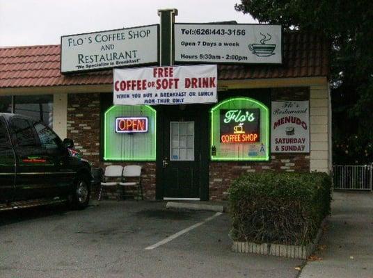 Flo s coffee shop kleine restaurants el monte ca