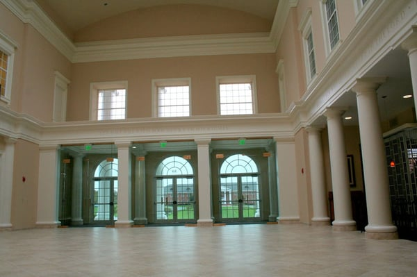 Interior columns crown molding patrick henry college yelp for Crown columns fiberglass