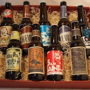 Craft beer hamper.