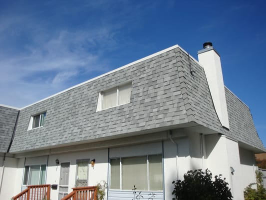 high definition roofing 22 unit mansard roof strata