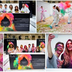 They also know how to have fun..#holievent in #London