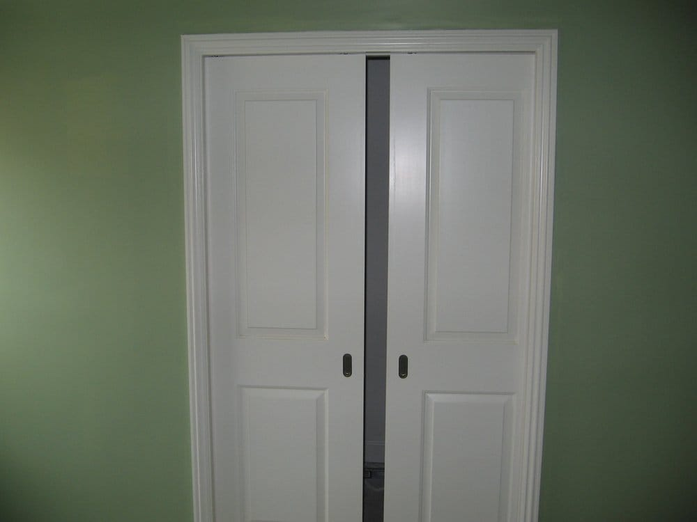 pocket doors installed in walk in closet yelp