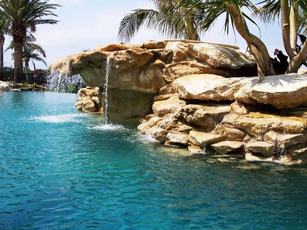 Relaxing Lagoon Pool And Waterfall Yelp