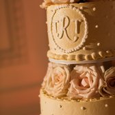 Close up shot of my wedding cake
