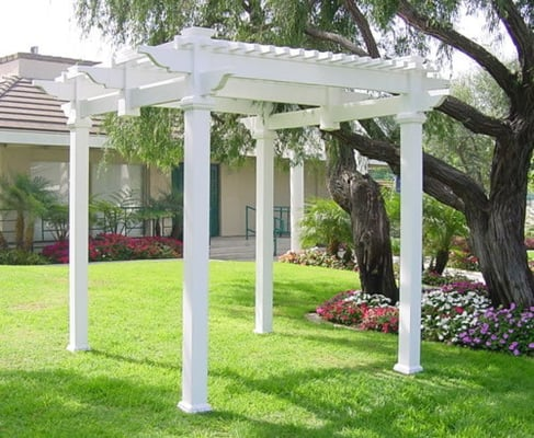 Budget fence gates vinyl pergola diy kit yelp for Budget fence and patio