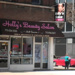 Holly s beauty salon hair salons chicago il yelp for 24 hour nail salon chicago