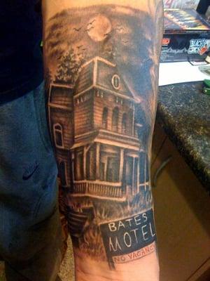 Devin s lost time tattoos charleston wv united states for Tattoo charleston sc
