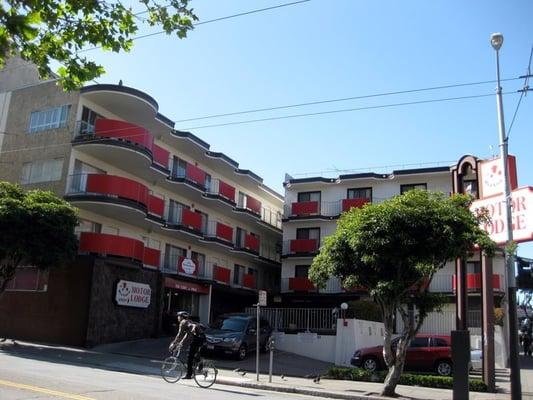 The Red Coach Motor Lodge Tenderloin San Francisco Ca