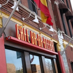 What Restaurant Is Next To Cafe Babareba In Chicago
