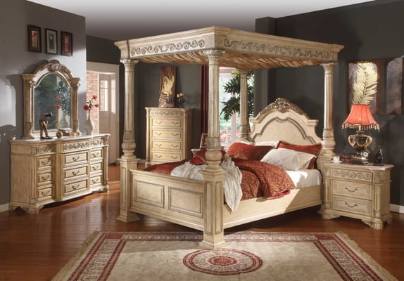 Marble And Wood Bedroom Furniture ~ Http unitedfurnitur­egroup sienna marble ­top