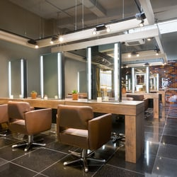 Our salon is a fantastic mix of classic and contemporary design with 100% natural materials. It's a wonderfully relaxing space.