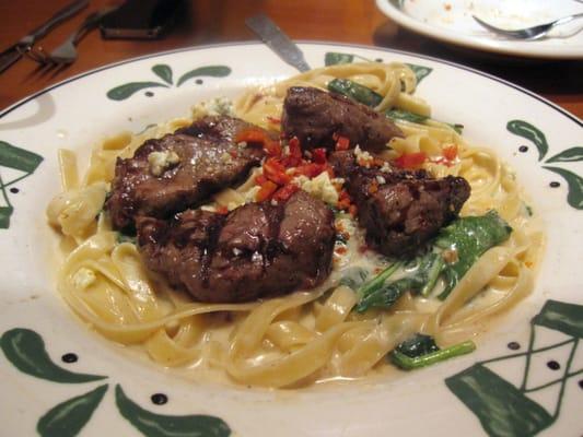 Steak gorgonzola alfredo yelp Olive garden steak gorgonzola recipe