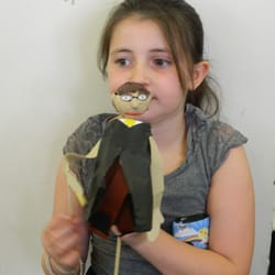 The results of our puppet making workshop