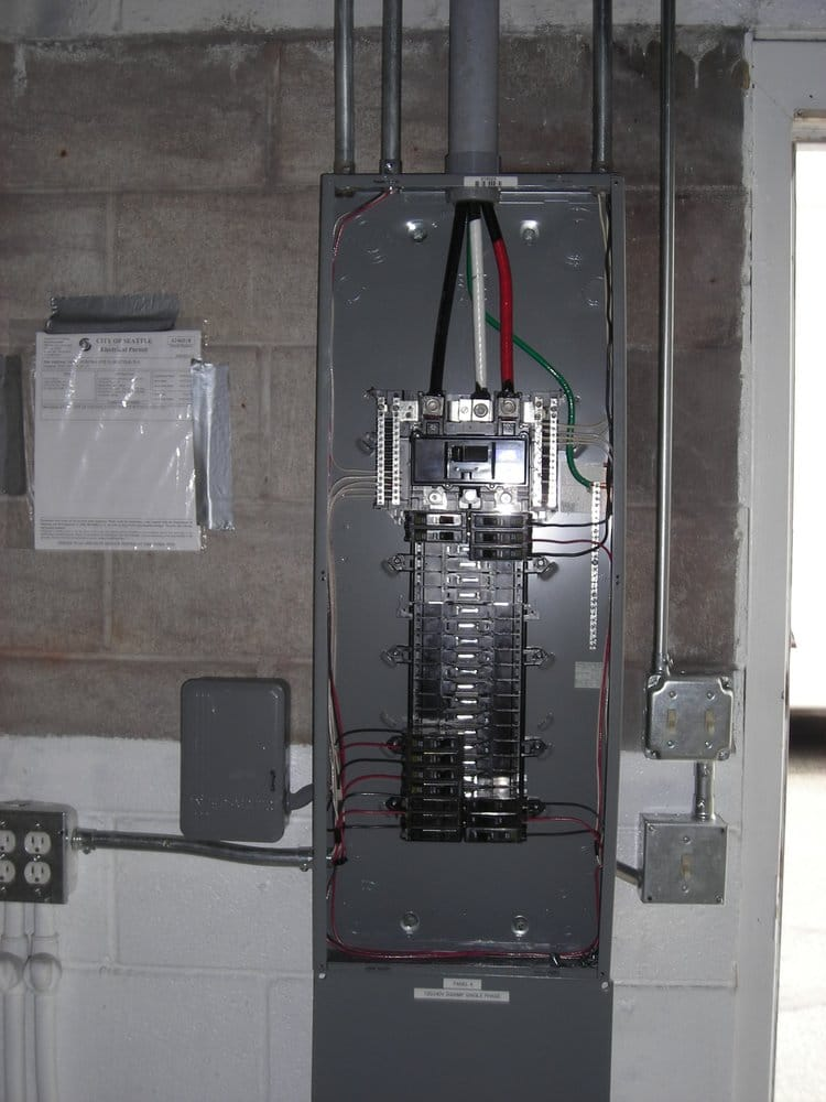 200 Amp Power Cable : Amp panel from service yelp