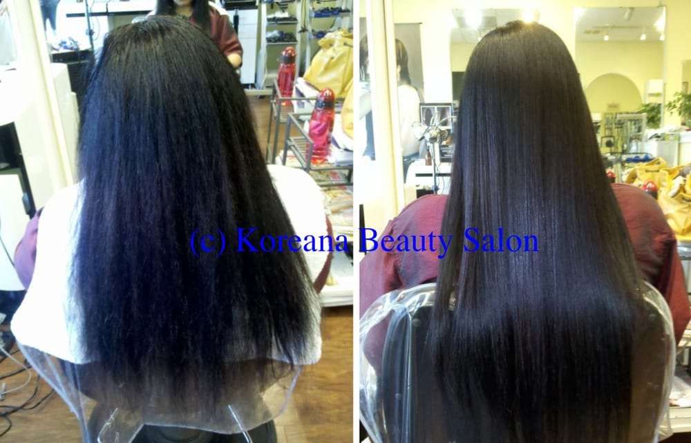 Japanese Hair Straightening Treatment On African American