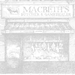 Macbeth's Butchers, Forres, Moray