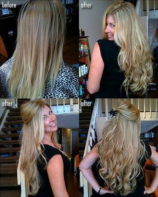 Invisible Tape Hair Extensions | Yelp