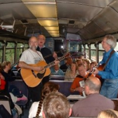 The Edale folk train