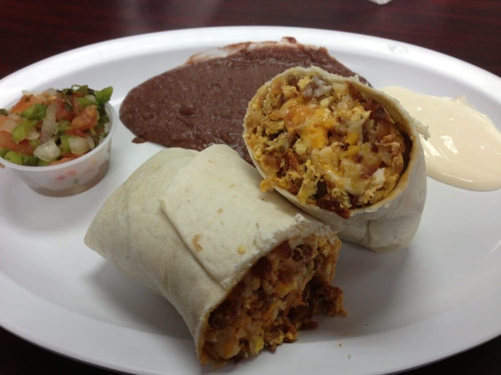 Chorizo Breakfast Burrito! | Yelp