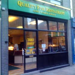 Quality Fish Restaurant, Richmond, London
