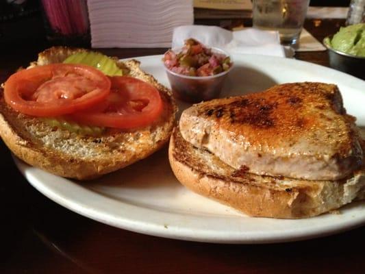 Angry Tuna Sandwich
