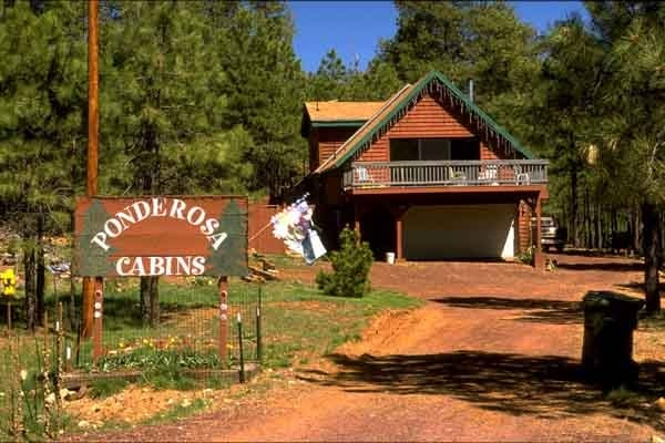 Ponderosa cabins forest lakes az yelp for Ponderosa cabins california