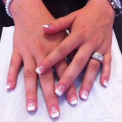 2 ongle blanc gel decor nail art french manucure quickepil proepil