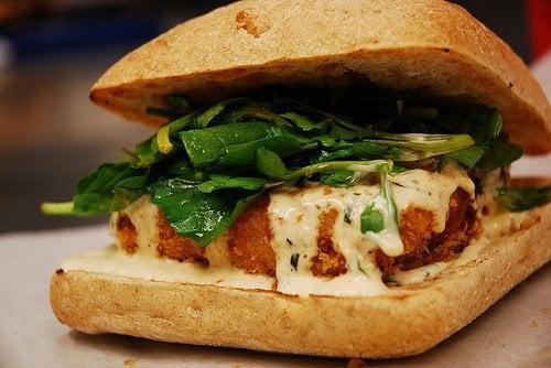 Yummy Crab Cake Sandwich | Yelp