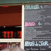 Chalkboard menu for your convenience