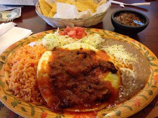 Huevos Rancheros Con Chorizo Fajitas Mexican Restau...