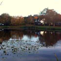 The Moat House - duck pond
