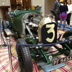 Fantastic old Bentley in the lobby