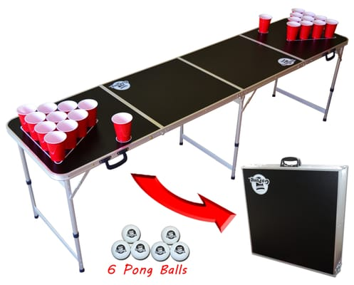 Go Pong 8' Portable Beer Pong Table at Sears.com